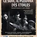 Ce soir, il pleuvra des étoiles - quand la guerre se met à chanter, dimanche 9 février 2014 - Clermont Oise