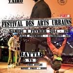 Festival des Arts Urbains - Part 1, samedi 8 février 2014 - Clermont Oise