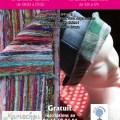 Atelier tissage tapis-chiffon «rag rugs» et atelier de confection de chapeaux, samedi 4 juillet 2015 - Clermont Oise