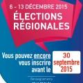 Elections Régionales 2015, vous pouvez encore vous inscrire avant le 30 septembre 2015 - Clermont Oise