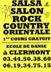Salsa Salon Rock Country Orientale - Inscriptions saison 2015-2016 - Clermont Oise