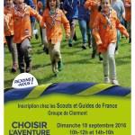 Inscription chez les Scouts et Guides de France Groupe de Clermont