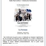 CinéClap – Les toiles du lundi : La Terrasse, lundi 10 octobre 2016