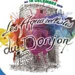 Les Aquarellistes du Donjon - 10e anniversaire, du vendredi 25 novembre au dimanche 18 décembre 2016
