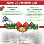 Danse avec le Père Noël aux Sables, samedi 20 décembre 2016