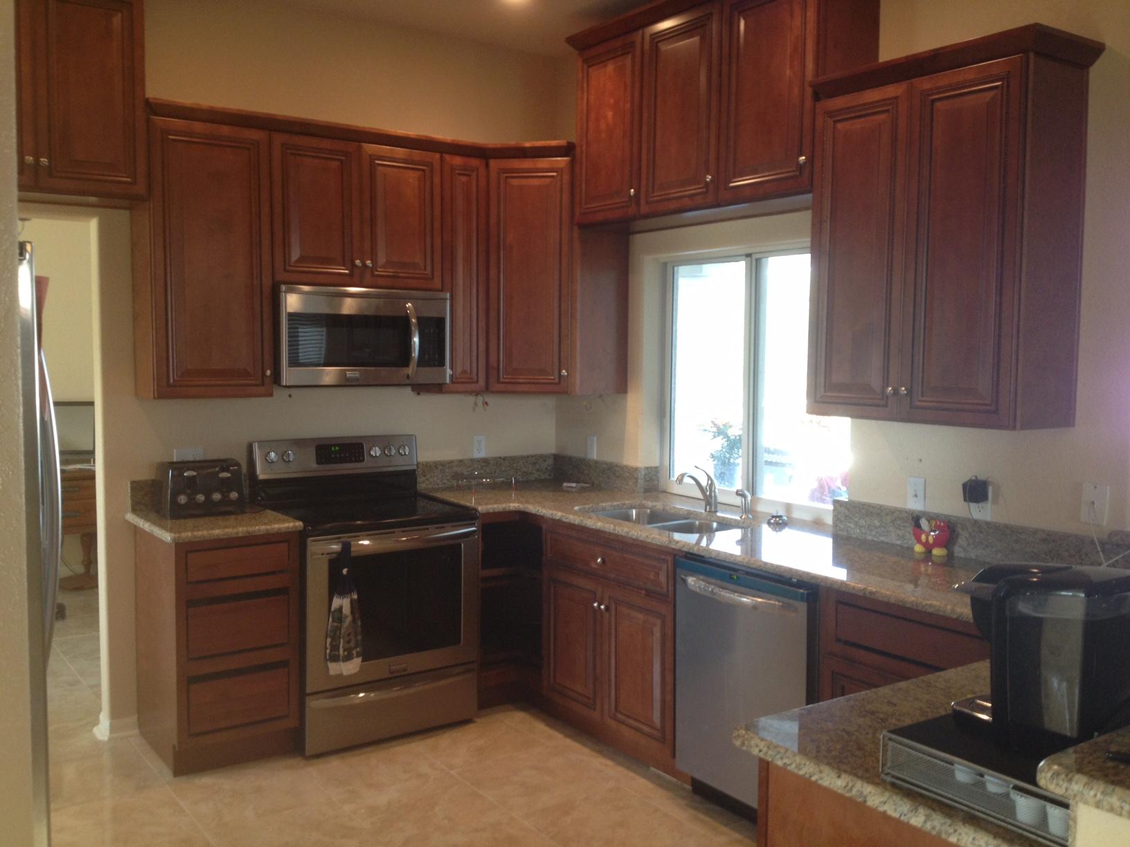Kitchen cabinet upgrade