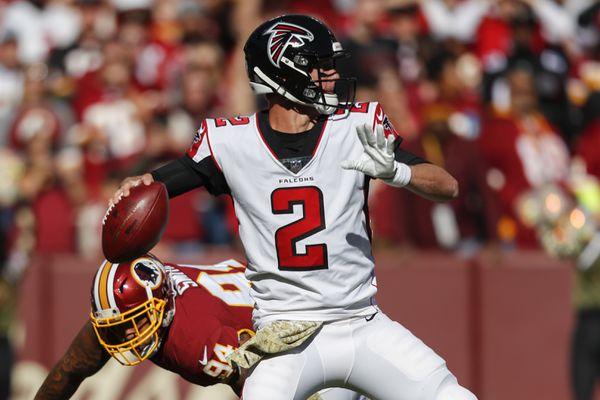Matt Ryan and the Falcons come to Cleveland on Sunday. (Pablo Martinez Monsivais, Associated Press)