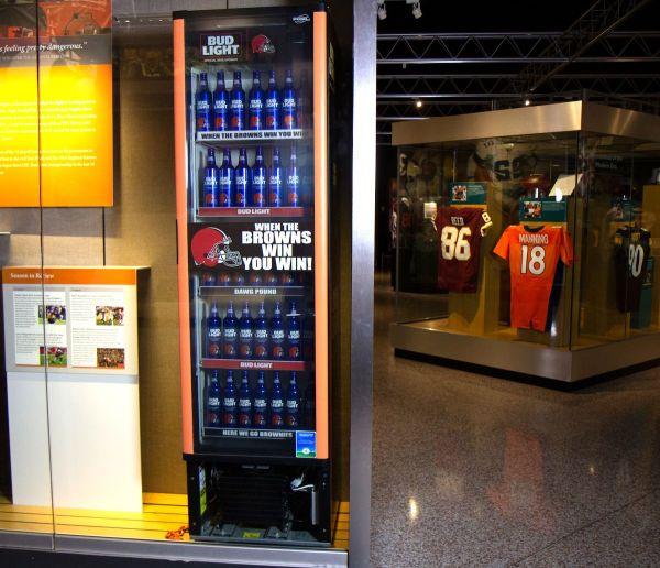 Budweiser Display Refrigerator - Year of Clean Water