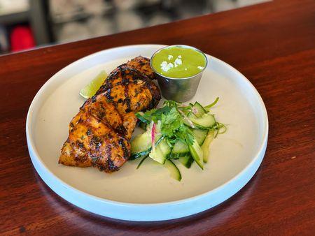 Chimi's Aji Verde Sauce with Peruvian Grilled Chicken