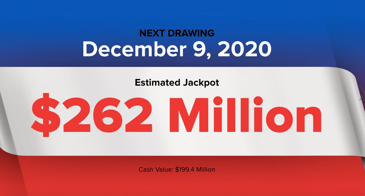 Powerball winning numbers for Wednesday. Dec. 9. 2020; jackpot $262 million - cleveland.com
