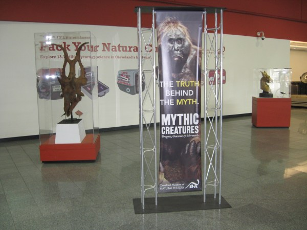 Mythic Creatures Cleveland Hopkins Airport