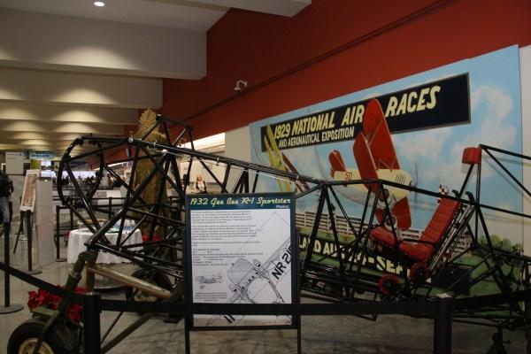 Cleveland National Air Races Exhibit Hopkins