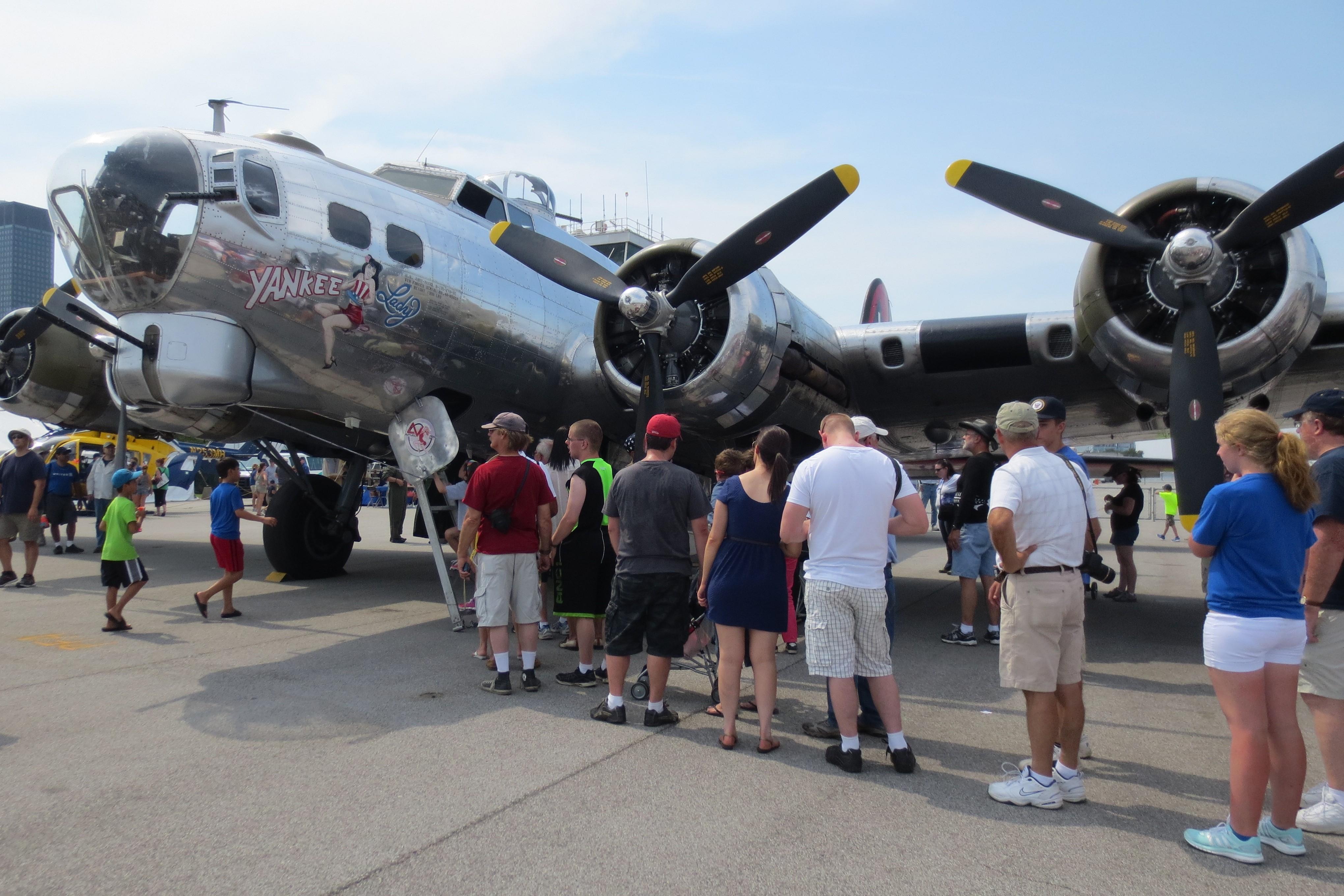 Display Aircraft  Cleveland National Air Show