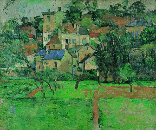 Painting Garden at Pontoise