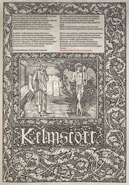 William Morris And The Kelmscott Press Cleveland Museum