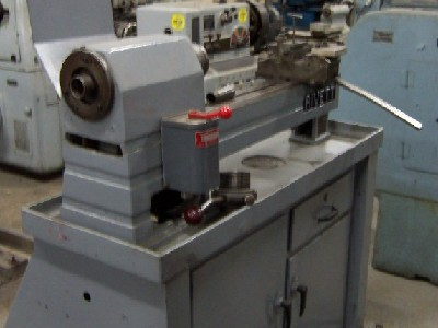 Lathes USED RIVETT MODEL 918 SECOND OPERATION TURRET LATHE