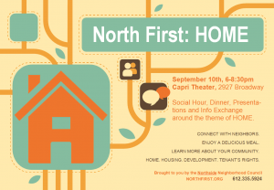 North First Home Poster