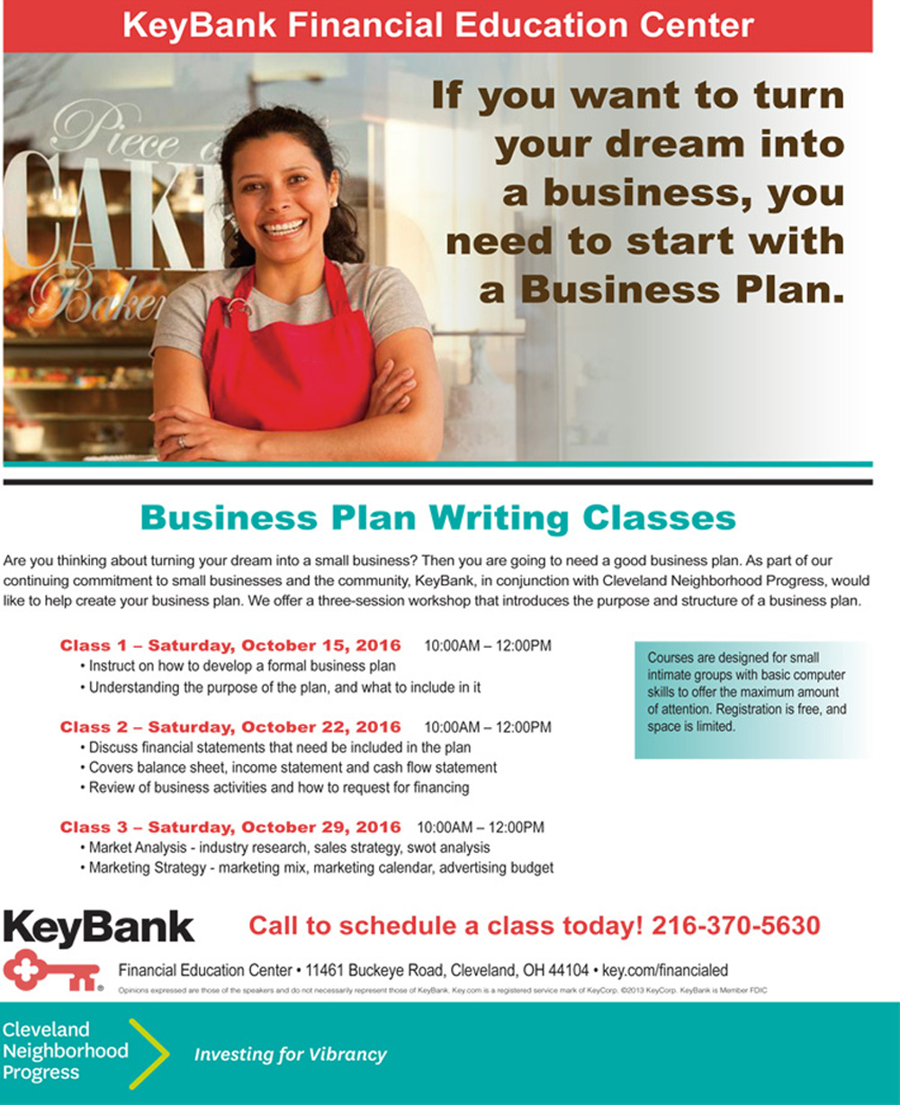Business Plan Writing Classes - KeyBank Education Center