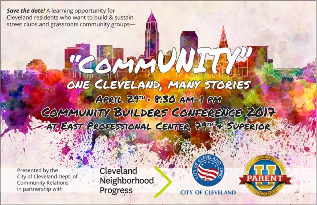 commUNITY: 2017 Community Builders Conference @ East Professional Center  | Cleveland | Ohio | United States