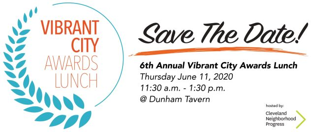 Vibrant City Awards Lunch 2020 @ Dunham Tavern