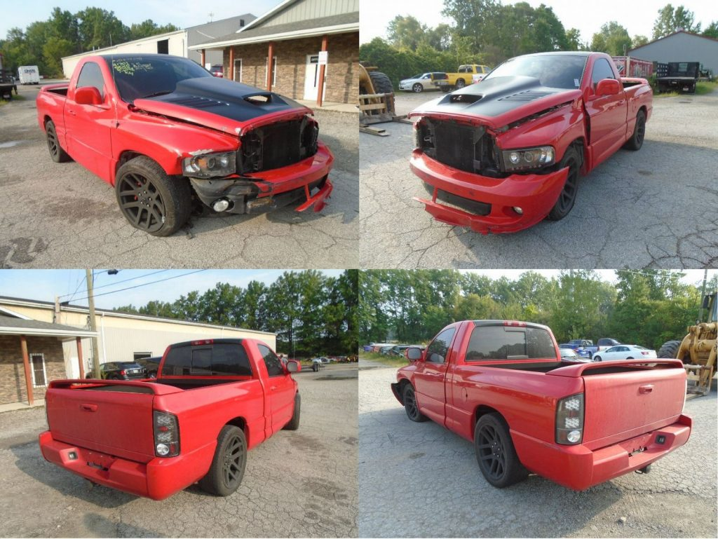 hight resolution of new arrival 2004 dodge ram srt 10 w 42k 6 speed manual rolling chassis engine turn key