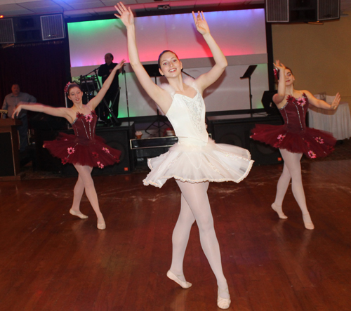 Cleveland Youth Ballet at Cultural Gardens Federation Dinner