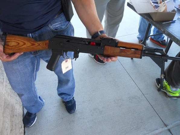 One of the bought-back weapons
