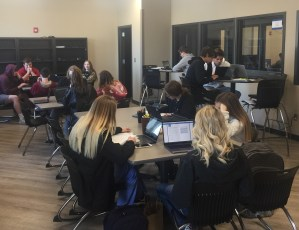 Current CPS students taking advantage of the Cleveland Personal Academic Center.