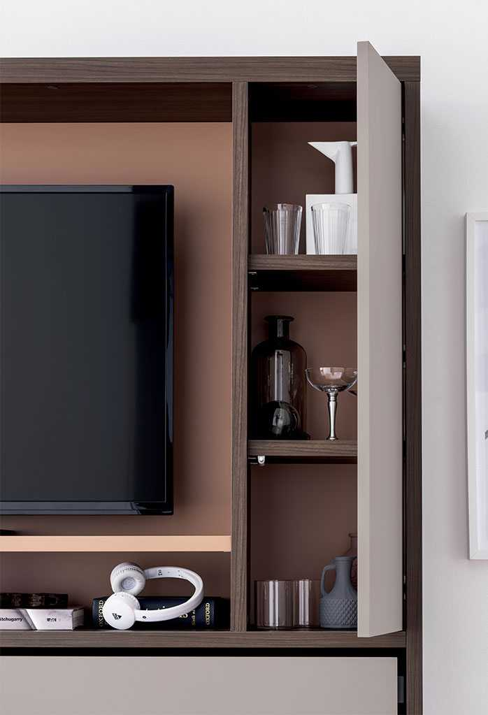 Nikai modern murphy bed with TV unit  CLEVER
