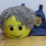 Lego Chase McCain costume mask and flak jacket by Dione Gardner-Stephen