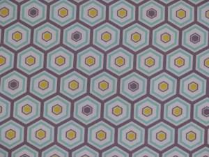 Grecian Bathhouse tiles fabric