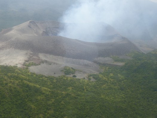 Mt Yasur from the air
