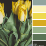 Yellow Tulip color scheme from Clever Chameleon