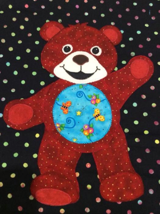 Lisa's red bear