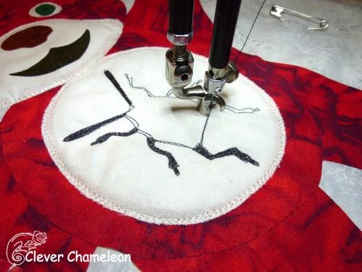 thread painting