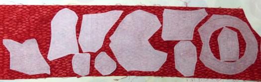 fused adhesive for raw edge appliqué