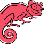 Red Clever Chameleon logo