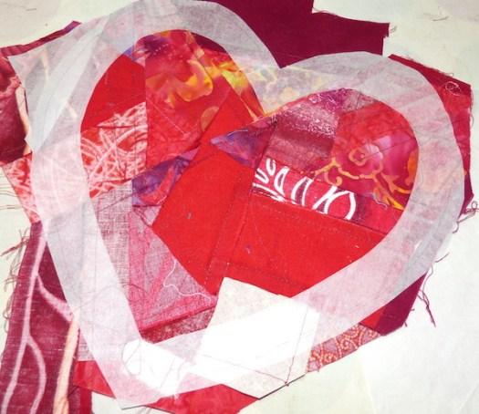 Craft Room De-Stash Challenge - Valentine\'s Heart | Clever ...