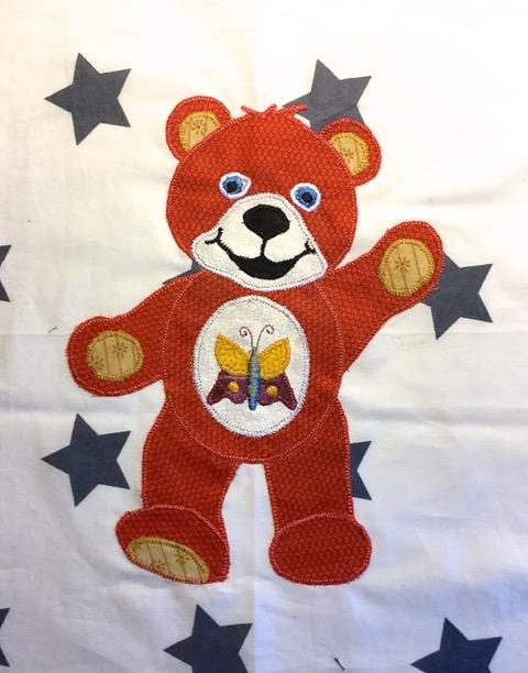 Ria's Red Bear