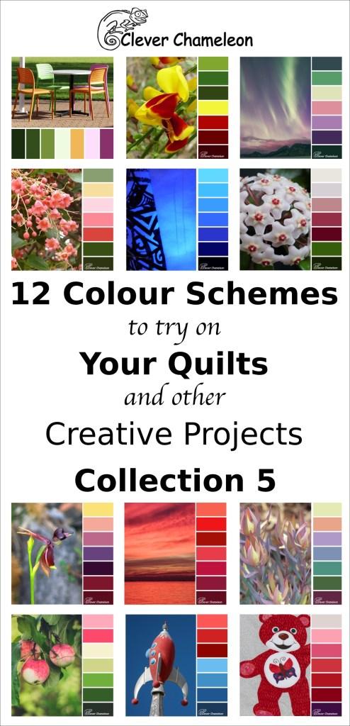 Colour Inspiration Tuesday Collection 5