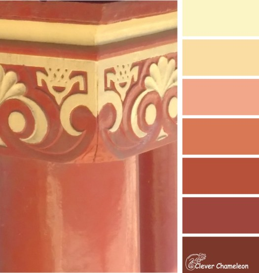 Vintage Port Adelaide color scheme by Clever Chameleon