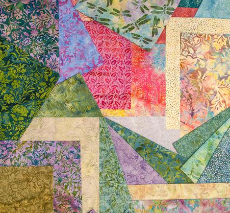 Victoria and Albert batik fabrics from Island Batik