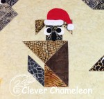Koala tangram appliqué at Clever Chameleon