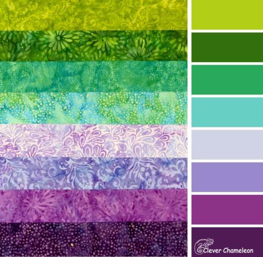Paisley Park color scheme by Clever Chameleon