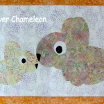 Rabbit appliqués for the Love with a Twist quilt along at Clever Chameleon