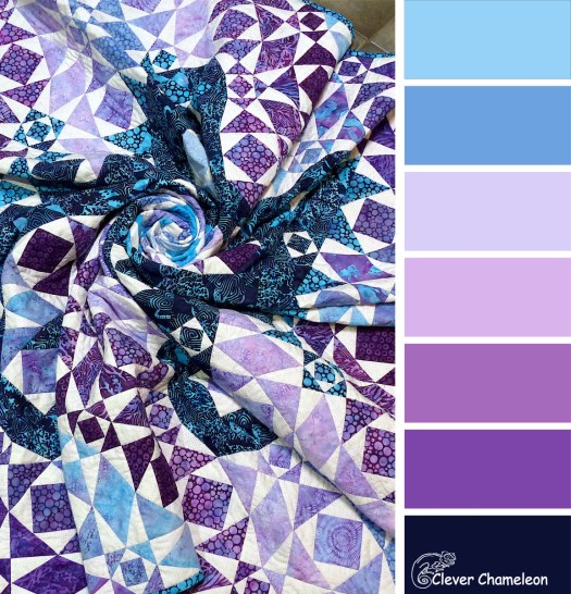 Blue Sea colour board at Clever Chameleon