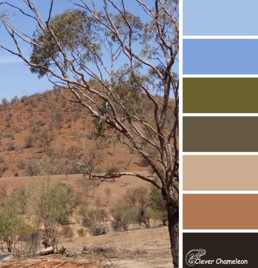 Arkaroola Australian Outback colours