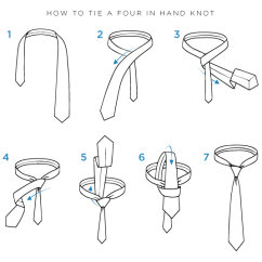 How To Tie A Bow Step By Diagram Whirlpool Microwave Wiring Watch Noose Four In Hand Knot