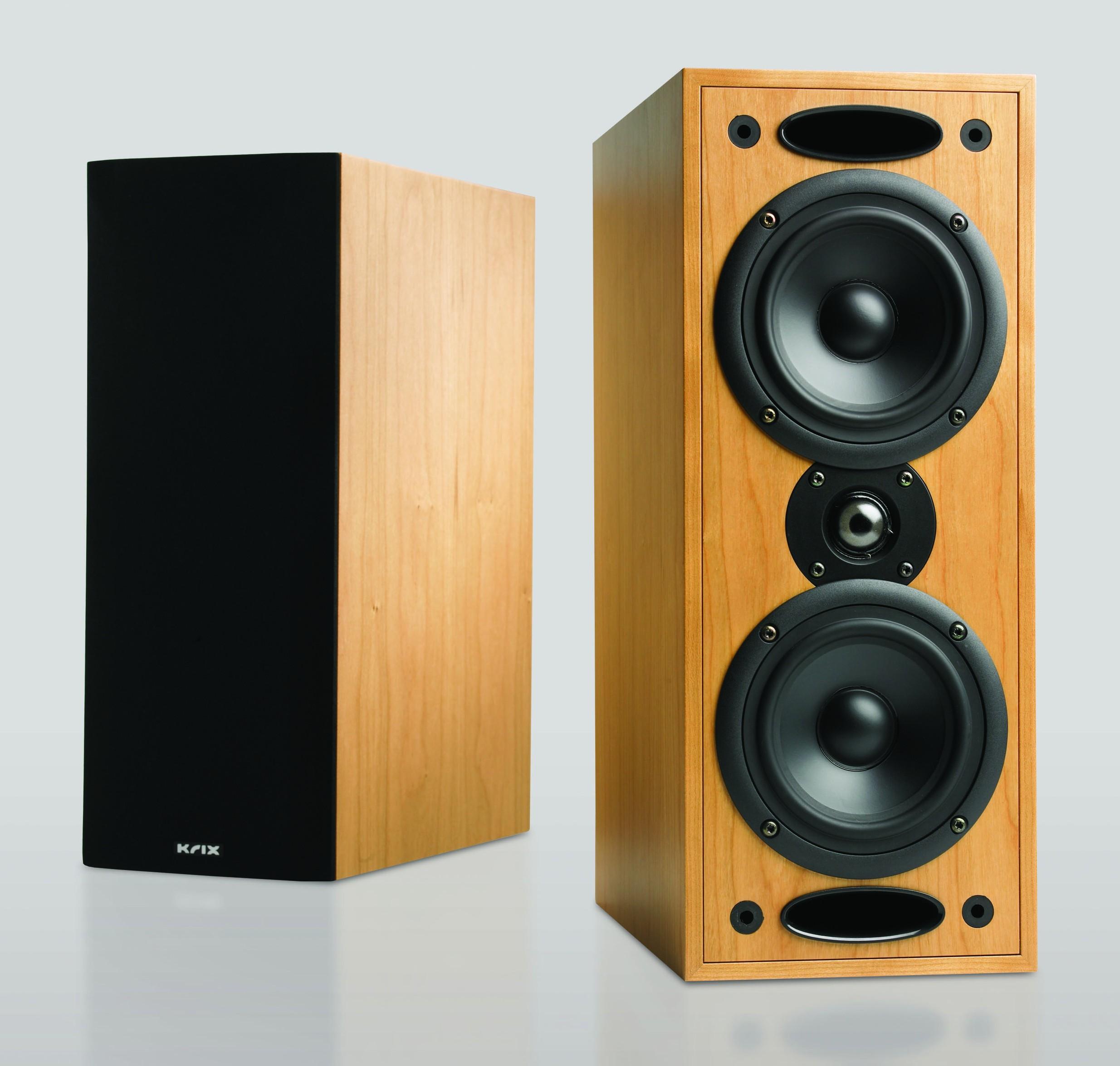 krix acoustix main & graphix centre home theatre speakers.