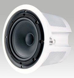 krix stratospherix outdoor 2 way in ceiling speaker photo with grille removed 212kb [ 1416 x 1373 Pixel ]